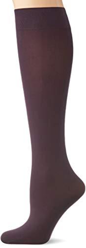 FALKE Damen Pure Matt 50 DEN W KH Socken, Blickdicht, Lila (Violetonyx 8136), 35-38