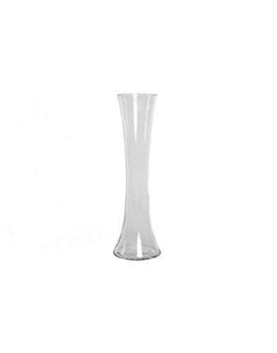 Huis en meer – vaas van transparant glas. Exclusief design