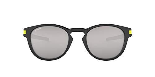 OAKLEY Latch 926521 53 - Occhiali da sole, Uomo, Nero (Matte Black/Chromeiridium)