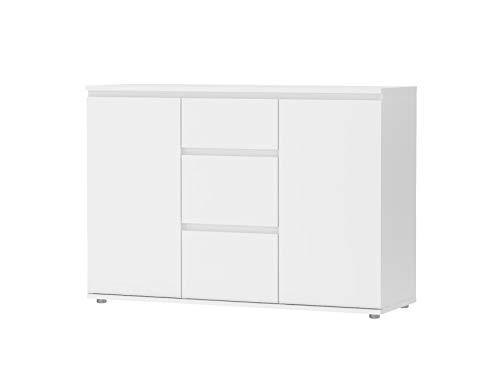Tvilum Buffet, Bianco, H. 83,7 x L. 119,5 x 40 cm