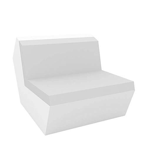 Vondom Faz canapé module central blanc