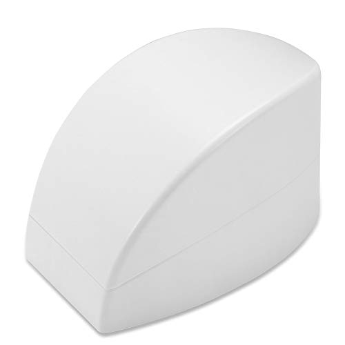 French Dip Nail Container, Dekaim 2 couleurs French Dip Nail Container Smile Line Maker French Nail Art Guide Manucure Outils(blanc)