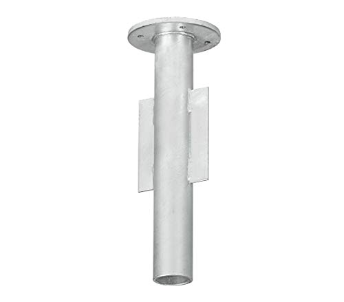 Dehner Bodenhülse für Ampelschirme,Ø ca. 14.5 cm, Höhe ca. 40 cm, Metall