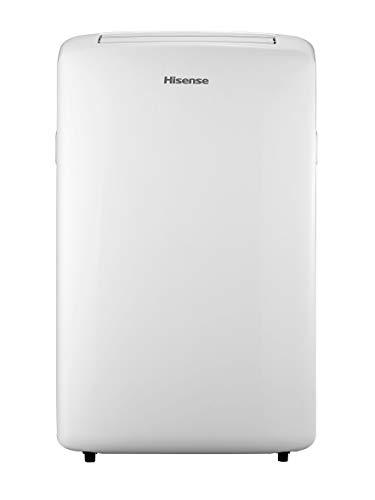 HISENSE APC12 Climatizzatore d'Aria Portatile da 12000 BTU con Gas R290, 380m3/h, Bianco, Classe di Efficienza Energetica A
