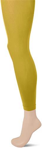 FALKE Damen Leggings Pure Matt 50 Denier - Semi-Blickdicht, Matt, 1 Stück, Gelb (Deep Yellow 1007), Größe: M
