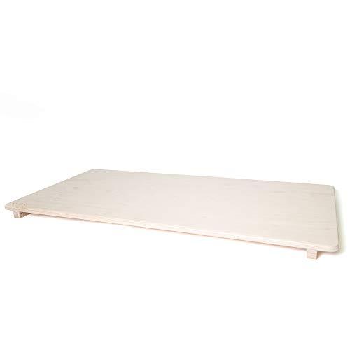 Rutschbrett aus Holz für alle Nobsi Kletterbögen, 100% Handmade, robust und stabil, Zubehör für Kletterbogen mit Rutsche