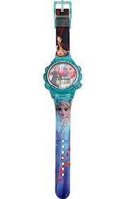 Disney Frozen Unisex Kinder Digital Automatisch Uhr mit Kunststoff Armband 20750