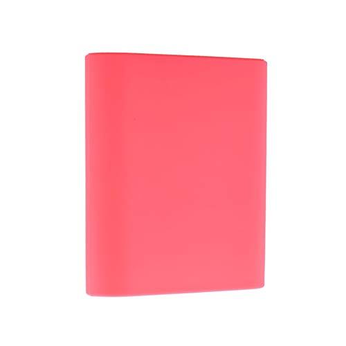 Duurzame zachte siliconen beschermhoes voor Xiaomi 10400mAh Power Bank draagbare oplader Wonderful Perfect Coverpink