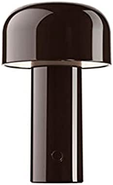 Minimalist Table Modern Post LED Cute Portable Mushroom Metal Night Lights Design Art for Kid UK UK USA Power Supply