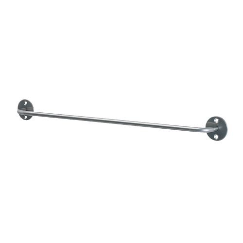 Ikea 500.726.45 Bygel Rail, silver color, 55 cm and 21 3/4 inches