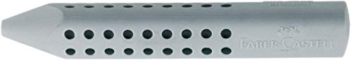 Faber-Castell 187100 - Dreieckradierer Grip 2001, grau