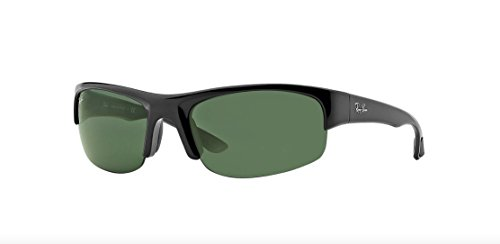 Ray-Ban RB4173 - 601/71 Sunglasses Black w/ Green Classic Lens 62mm