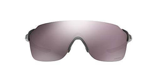 Oakley Evzero Stride 938606 38 Occhiali da Sole, Nero (Polished Black/Prizmdailypolarized), Uomo