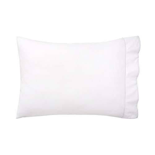 Yves Delorme - Flandre Blanc (White) King Pillowcase - Luxury Pillowcase from France.