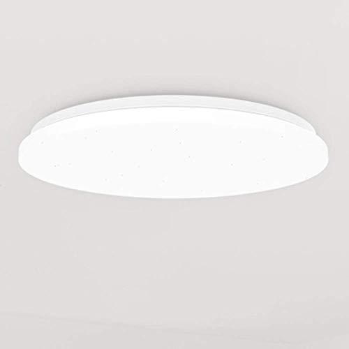 Ancnan Música Lámpara de Techo Teléfono móvil Control Remoto Smart Bluetooth LED Dormitorio Redondo Iluminación de la habitación de los niños Luces Decorativas Luces cálidas