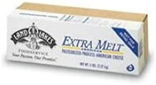 Land O Lakes American Extra Melt White Process Cheese Loaf, 5 Pound -- 6 per case.