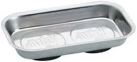 8761 Stainless Steel Magnetic Parts Tray - Rectangle