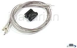 Genuine BMW Tail Light Socket Connector with 8 Wires 2001 - 2005