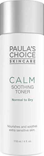 Paula\'s Choice Calm Soothing Gel Gesichtswasser - Reduziert Rötungen & Beruhigt die Haut - Hautpflege für Rosacea Empfindliche Haut - mit Allantoin - Normale bis Trockene Haut - 118 ml