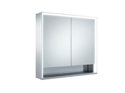 Keuco Royal Lumos spiegelkast 14302, 2 draaideuren, wandmontage, 800mm - 14302171301