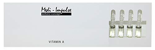 Medi-Impulse THL13, vitamina A in 10 ampolle da 2 ml cadauna, con acido ialuronico, minimizza e riduce le rughe