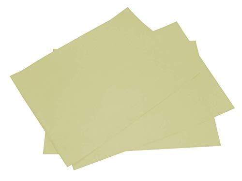 Astor 400 manteles Individuales de Color Marfil de Papel de un Solo Uso de 30 x 40 cm Mantel desechable para hostelería restaurantes paninotecas Fast Food y Pub