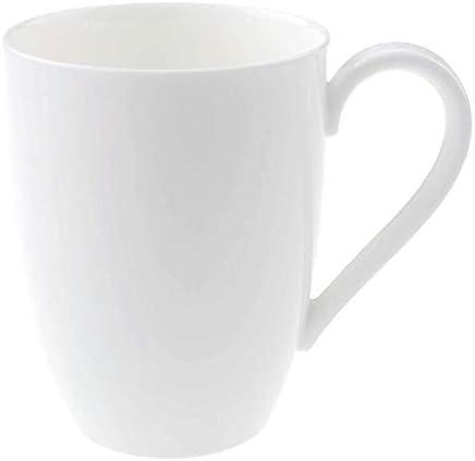 Preisvergleich für Villeroy & Boch Royal Kaffeebecher, 350 ml, Premium Bone Porzellan, Weiß