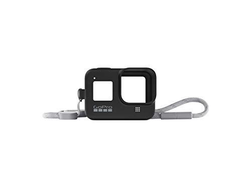 GoPro Hülle + Trageband für HERO8 Black - Blackout (Offizielles GoPro Zubehör) Schwarz