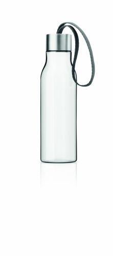 Eva Solo 502990 Borraccia, Con tracolla, 0.5 Litri, Grey, Trasparente/Grigio