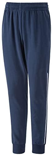 DAFENP Pantaloni Tuta Bambino Cotone Pantaloni Sportivi Traspirante Pantaloni Allenamento Jogging per Ragazzo Ragazza KZ5005-DarkBlue-128