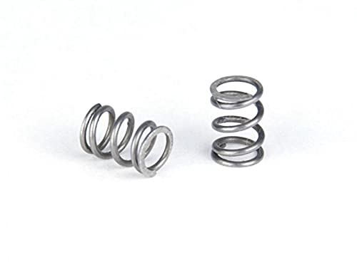 VIENDADPOW 6pcs Spring 6mm OD, 9.7mm FL for Lulzbot TAZ 3D Printer Parts