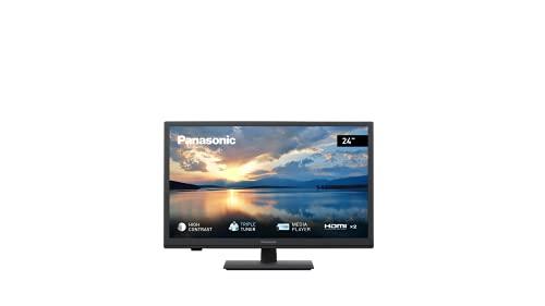 Panasonic TX-24GW324 Fernseher (LED TV 24 Zoll / 60 cm, HD Triple Tuner, Media Player, HDMI, USB)...