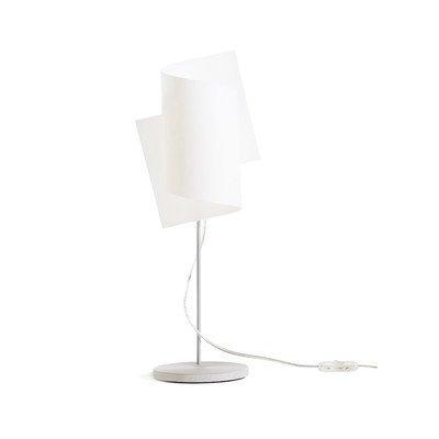 Tafellamp 1-lamp Loop kleur (frame): aluminium zilver geanodiseerd