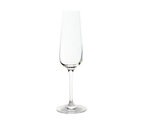 Toujours Cristal de Sèvres Digitale – Set de Deux Verres Flûte à Champagne