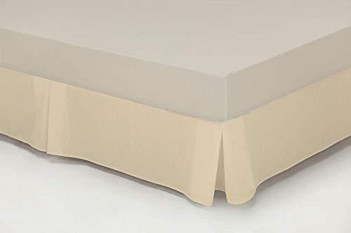 Cassa Luyton Matratzenauflage Matratzenschoner, Kingsize-Bett für Doppelbett, Baumwolle/Polyester, One Size, 180 x 200 cm