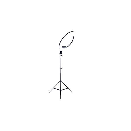 HELELELELELELELELE, 21 inch ringlamp met statief (200 cm), met bluetooth-ontvanger, telefoonhouder, 3 verlichtingsmodi, YouTube, video-opname
