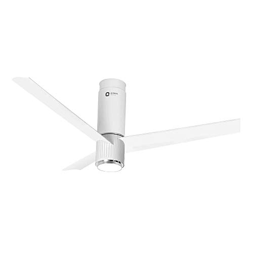 Orient Electric Aeroslim 1200mm BLDC motor Smart Ceiling Fan with IOT, Remote & Under light (White Marble)