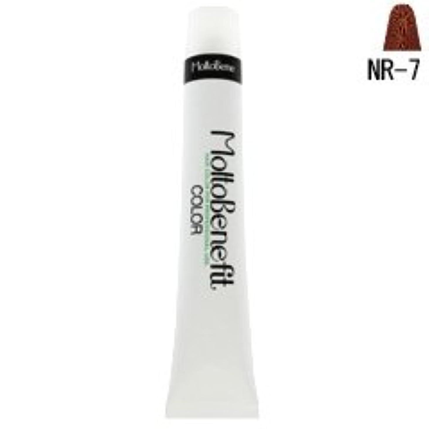 シロクマ市の花反抗【モルトベーネ】フィットカラー グレイナチュラルカラー NR-7 ナチュラルレッド 60g