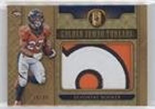 Devontae Booker #/49 (Football Card) 2017 Panini Gold Standard - Golden Jumbo Threads - Prime #21