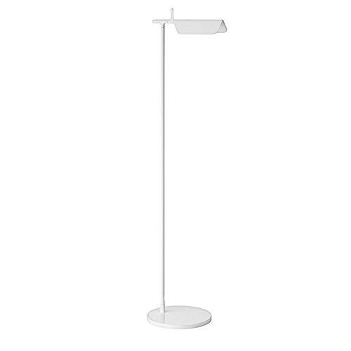 Flos Tab F LED vloerlamp draaibaar door Edward Barber & Jay Osgerby - wit