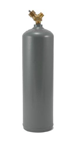 Hot Max 2401210tamaño de pie cúbico (MC) acetileno Cilindro Tanque, aspiradora