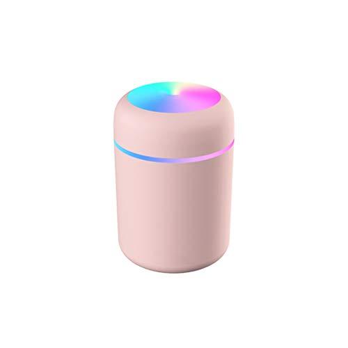 WNDRZ Humidificadores De Aire Atomizador Difusores De Aromaterapia Gran Capacidad Silencioso Luz LED Humidificador USB De Noche para Oficina En Casa (Color : White)