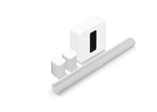 Sonos Arc - The Premium Smart soundbar for TV, Movies, Music, Gaming - White with (Gen 3) - The...