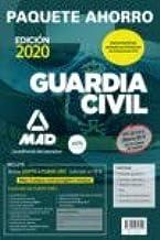 Paquete Ahorro BÁSICO Guardia Civil 2020. Ahorra 84 € (incluye Temarios 1, 2 y 3; Test; Simulacros de Examen 1 y 2; y acceso a Curso Oro)