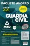 Paquete Ahorro Guardia Civil. (incluye Temarios 1, 2 y 3; Test; Simula