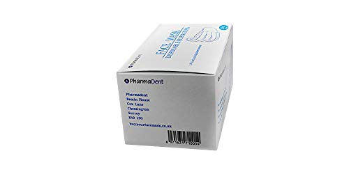 Pharmadent Disposable 3 Layer General Use Non-Medical Face Mask (Pack of 50 Pieces)