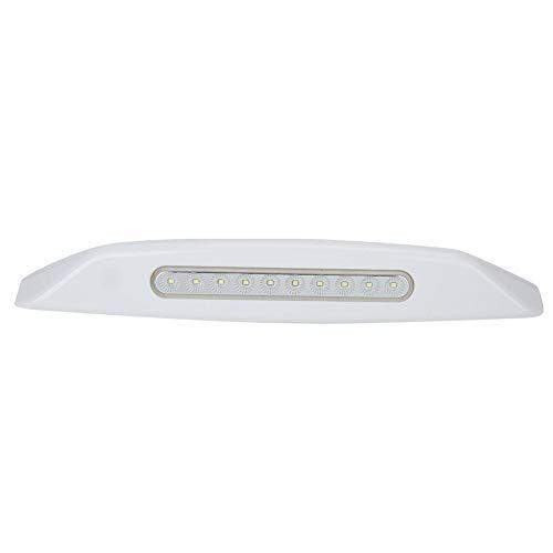 12V LED Spotlight, 3W 10LED Spotlight Lámpara de iluminación a prueba de polvo a prueba de agua para toldo de coche RV Yacht