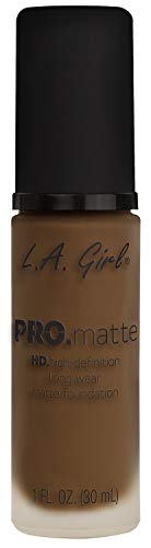 L.A. Girl Base de maquillaje Pro Matte Cappuccino 30 ml