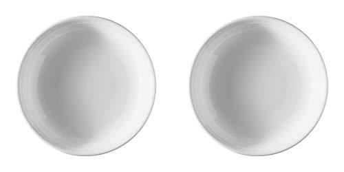 Thomas Trend Weiß 2 x Suppenteller 22 cm - 11400-800001-10322