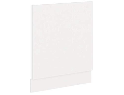Küchen-Preisbombe EKO White Frontblende für integrierten Geschirrspüler 60 Weiss matt Einbauküche